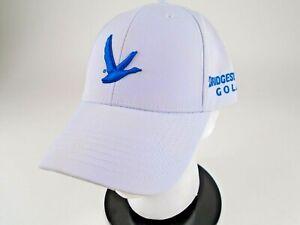 Grey Goose Vodka Bridgestone Golf White Adjustable Cap Golf Hat