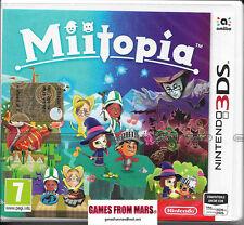 MIITOPIA - Nintendo 3DS 2DS - NUOVO ITALIANO