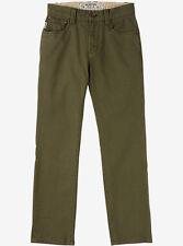 BURTON Boys B77 Pants - Olive Green - Size 28 - New
