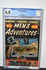 Men's Adventures #13 (1952) CGC Graded 6.0 ~ Russ Heath Cover ~ Atlas War Comics