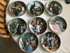 Wizard Of Oz 50th Anniversary Plates, 8 Plates