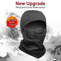 Latest Windproof Fleece Neck Warm Balaclava Ski Full Face Mask for Cold Weather
