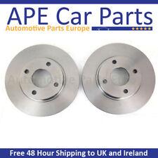 Peugeot 308 SW 1.6 Hdi 1.6 Vti 06/08-03/15 Plain Rear Brake Discs
