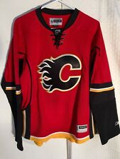Reebok Women's Premier Nhl Jersey Calgary Flames Team Red Alt sz L
