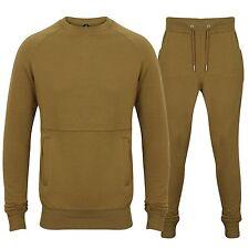 Mens Designer Tracksuit Skinny Slim Fit Lyrca sweatsuit