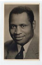 More details for signed picture postcard of paul robeson (c24426)