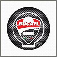 Tappo Para Serbatoio Adesivo Resinato Protezione compatibile con Ducati Tank Pad