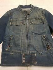 Ralph Lauren Polo Jean Company Distressed Denim Jacket size small