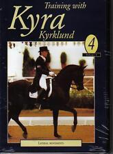 NEW DVD Dressage TRAINING with KYRA KYRKLUND Volume 4