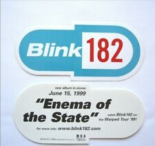 Blink 182 Enema Of The State 1999 Promotional Pill Sticker Rare