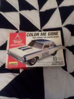 Lindberg 1964 64 Dodge 330 Super Sport Color Me Gone Model Kit