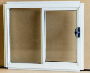 STOCK Sliding Window - Safety Tgh Glass H857mm x W850mm