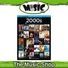New Songs of the 2000s PVG Music Book with OLA - Piano, Vocal, Guitar