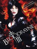 BLOODRAYNE III Solo i morti Sopravvivono DVD Nuovo Sigillato 3 RN