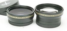 Xit PRO Series 0,43x & 2,2x Wide & Tele High Definition (HD) AF Lenses W/ 52mm.