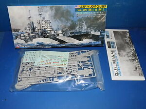 Skywave 1/700 W23 - US Light Cruiser CL-89 Miami - Model Kit