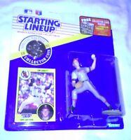 1991 Starting Lineup Figure MLB Jim Abbott California Angels (Anaheim) w/Coin