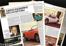 Old PININFARINA Design/Style Article / Photos / Pictures: FERRARI