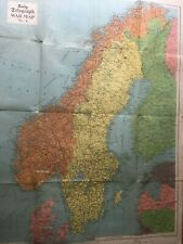More details for 1940 scandinavia daily telegraph war map no 4 - published george philip & son
