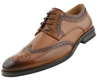 Mens Wingtip Dress Shoes, Formal Oxford Shoes for Men, Mens Casual Dress Shoes