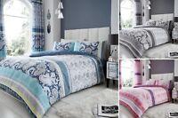 Kira Duvet Quilt Cover Bedding Set Single Double King Super With Pillowcase