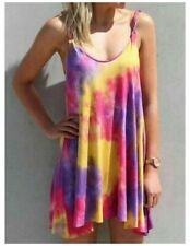 Long Womens V Neck Dresses Floral beach Evening Fashion Dress Maxi Casual Loose