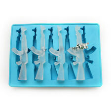 AK 47 Gun Silicone Ice Cube Mold Ice Tray Handmade Pudding Jelly Ice Cream Mould