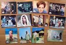 James Bond 007 THUNDERBALL  12 rare vintage German lobby cards 1965 SEAN CONNERY