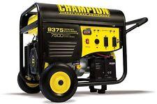 100219 - 7500/9375w Champion Power Equipment Generator - REFURBISHED