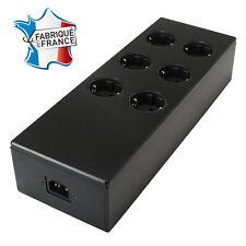 AUDIOPHONICS MPC6 V2 Distributeur secteur 6 ports Aluminium FURUTECH Noir