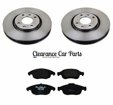 FOR PEUGEOT PARTNER TEPEE 1.6 HDI FRONT BRAKE DISCS AND PADS SET 2008 ONWARDS