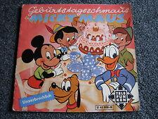 Walt Disney-Geburtstagsschmaus bei Micky Maus 7 PS-1960 Germany-Donald Duck