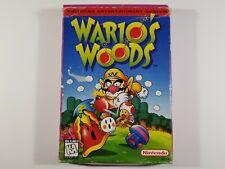 ¤ Wario's Woods ¤ Original Box Only Nintendo Nes Authentic