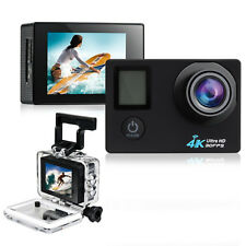 4K Ultra HD 2.0'' Dual Screen 170° WiFi DV Action Sports Camera with Remote