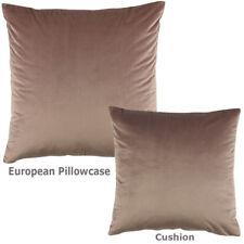 Bianca Vivid Aubergine Velvet European Pillowcase RRP34.95
