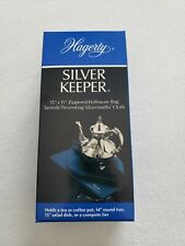 """Hagerty Silver 15 X 15"""" Zippered Bag New in Box"""