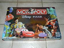 Hasbro/Parker-Monopoly Disney Pixar Edition-excellent état et complet