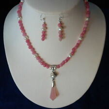 Rose Quartz Chain Fine Necklaces & Pendants