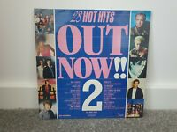 "28 HOT HITS OUT NOW 2 | 1985 12"" VINYL LP DOUBLE GATE-FOLD ALBUM RECORD"