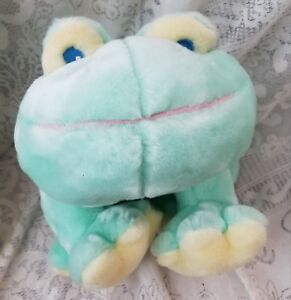 """Animal Alley My 1st Frog Plush Stuffed Toy 2000 Tag 16"""""""
