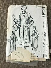 McCall's Sewing Pattern Misses Coat Size 20