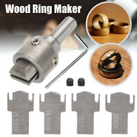 6X Ring Drill Bit Maker Wooden Thick High Speed Steel Multi Cutter Wood Tool Set