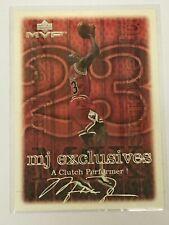 Michael Jordan 1999-00 Upper Deck MVP Silver Script Signature #194