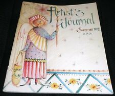 Artist's Journal Summer 1998 Issue #33 Jo Sonja Decorative Tole Painting Book