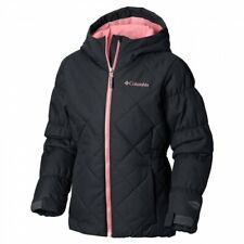 Columbia Girl's Casual Slopes Jacket Black 12979 Size XL