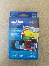 LC65HYC Genuine Brother High Yield Cyan Ink MFC-5890CN 5895CW 6490CW 6890CDW