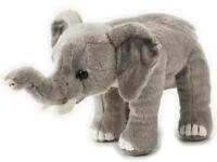 NATIONAL GEOGRAPHIC ELEPHANT PLUSH SOFT TOY 23CM STUFFED ANIMAL  - BNWT