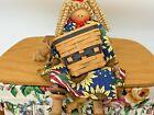 Longaberger The Original Mini Basket House Miniatures MBH Vintage Key Basket