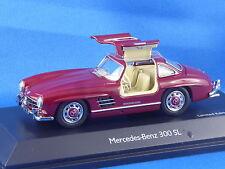 1/43 MERCEDES-BENZ 300 SL von SCHUCO, 1954-1957, Flügeltüren, limitiert 1000 St