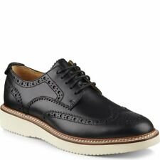 SPERRY TOP SIDER Gold Wingtip Wedge Oxfords Black STS14076 $148 New Size 8 M
